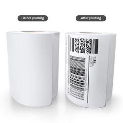 自己接着直接熱出荷のためのステッカーのペーパーによって印刷されるラベル