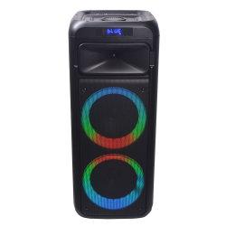 Privates Temeisheng verdoppeln die 6 Zoll-Disco-Karaoke beweglicher Bluetooth Lautsprecher