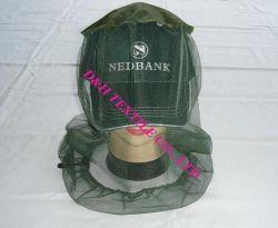 Хлопок бейсбола колпачок с противомоскитные сетки головки блока цилиндров (YZDH-FS001)