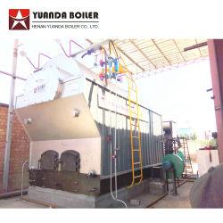 Textile/papier/l'industrie alimentaire utilisé chaudière à vapeur 1 2 3 4 5 6 tonne de charbon de bois Chaudière à vapeur de la biomasse de bois de chauffage