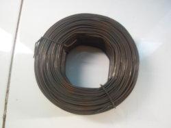 Alambre de hierro templado negro para la construcción se utilizan en productos de clavado