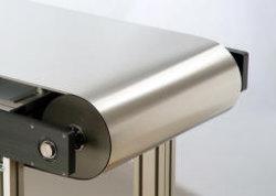 Interminable cinta transportadora de acero inoxidable para el procesamiento de alimentos