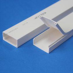 25X16mm Plastick PVC Trunking 케이블 덕트
