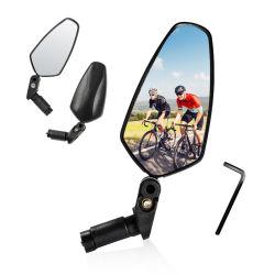 360도 회전 조절 자전거 리뷰 핸들바 미러 사이클링 리어 산악 자전거 도로 자전거 야경 거울 보기