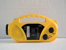 Protable материала ABS AM/FM/WB полосы Солнечного Динамо радио
