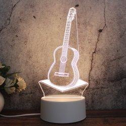 Dom criativo mais recentes Custom 3D ilusão LED da lâmpada de mesa