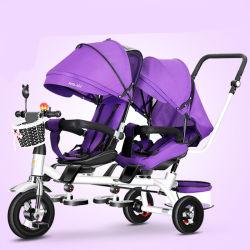 Realização de Baby Car com convexidade para bebês de 2 a mentira e sentar