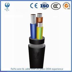 UL1650 كابل طاقة محمول قياسي بقدرة 15 كيلو فولت من النوع G-GC W كابل التعدين المرن SHD-GC