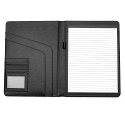 형식 사무실 회의 사업 검정 PU 가죽 A4 프리젠테이션 폴더