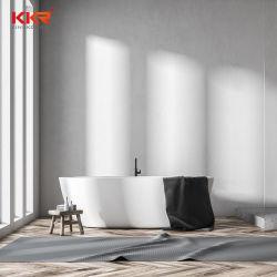 대리석 돌 목욕 통 Kkr 단단한 지상 돌 타원형 목욕 통 새로운 디자인 통
