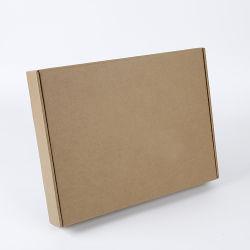Comercio al por mayor impresas personalizadas de diseño del logotipo de su papel Kraft marrón Eco Caja de cartón ondulado reciclado