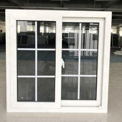 Janelas em PVC personalizados de alta qualidade para casa com preço baixo Slding UPVC Windows PERFIL PVC fixo inclinável e ativar o Windows