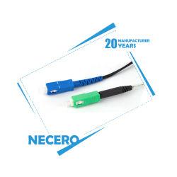 Производство цены в волокна оптическое оборудование для ODF Оптоволоконные соединительные шнур кабель