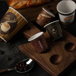高品質カスタム印刷用使い捨てシングルウォールペーパーカップ用 コーヒー