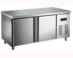 Equipamento de cozinha de aço inoxidável bancadas de trabalho sob o quadro frigorífico congelador de hotel