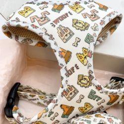 نوع جديد من الياقة، الحزام، حقيبة المؤخرة، الياقة، مجموعة من طقم أحزمة مخصصة/الكلب/يمكن تخصيصها/سعر المصنع بالجملة