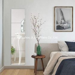 목욕탕, 침실을%s 4장의 전장 벽 미러 DIY 미러 도와의 12inch 세트