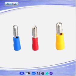 Viñeta de aislamiento de PVC de terminales del conector macho rápido