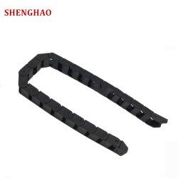10*10/15/20 de nylon (PA66) la cadena de arrastre de plástico para cable operador de cable para la máquina de CNC