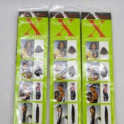 2018 Hair Braid 100% Kanekalon Jumbo Yaki Fleiding Hair Wholesale Synthetic Hair Extensions Lbh 033