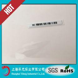 Etiquetas suaves de la seguridad de sistema de EAS, el Dr. Label