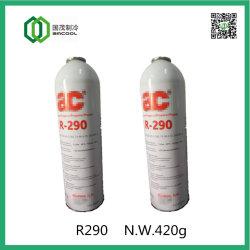 Het milieuvriendelijke Gas van het Koelmiddel R290 voor Binnenlandse Airconditioner