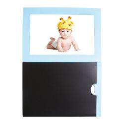 Cadre photo magnétique promotionnel /Cadre Photo en bois des aimants de réfrigérateur