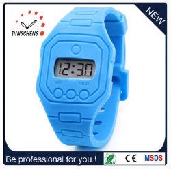 Hommes Femmes Silicone Montres horloge numérique 2015 Hot Sale Fashion gelée occasionnel montres LED (DC-1376)