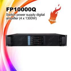 Caliente-venta Fp10000q 4 canales de audio Amplificador de Bajo