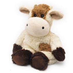 2018 Nouvelle conception de jouets en peluche Vache brune moelleux