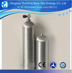 Fabricante de máquinas de GLP para recipientes a presión alta aleación de aluminio de 12L 6061 Cilindro de gas de acero inoxidable