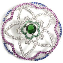 Bedekken de Bijkomende Bevindingen van de Halsband van de Juwelen van CZ van de manier met Mocro