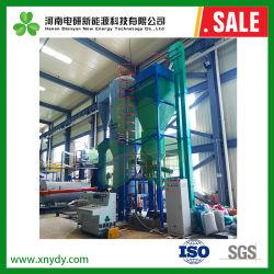 Utilização industrial da biomassa de gaseificação de Leito Fluidificado para combustível de Palha