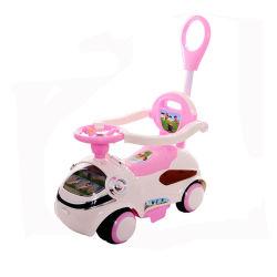 China de plástico Mayorista de juguetes para niños con la barra de empuje