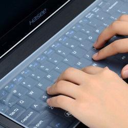 Het waterdichte Laptop Silicone van de Film van de Dekking van het Notitieboekje van het Toetsenbord Beschermende Stofdichte