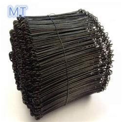 De zwarte Ontharde Draad van de Band van de Lijn van de Draad voor Binddraad Consturctions (de Gegalvaniseerde draad van /PVC van de draad)