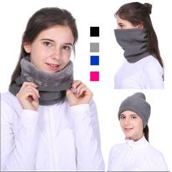 Forro Polar cálido invierno funcional Bufandas Gorros