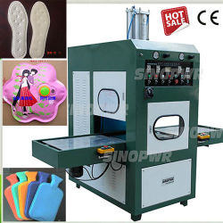 8kw 고주파 PVC 플라스틱 용접 기계 스포츠 단화 갑피 가죽 로고 또는 단화 패드 /Plastic 명확한 PVC 상자 또는 차 발뒤꿈치 패드 밀봉 기계