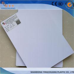 15mm blanc sans PVC Feuille de mousse pour signer Advertis