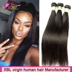 Comercio al por mayor suavizar el cabello humano virgen puro para cuidados de belleza