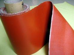 Rote Silikon-Gewebe, Silikon-Gewebe, Glasfaser-Mantel-Silikon