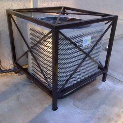 Conditionnement d'air extérieur le support de protection de la machine