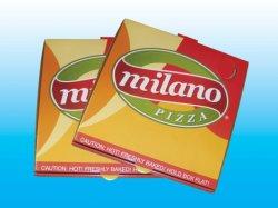Новые моды красочной печати Cardbaord из гофрированного картона коробки пиццы