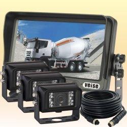 Sistema impermeável da visão da parte traseira do veículo da câmera do indicador IP69k do espelho de Rearview