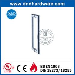Couple d'accessoires de meubles décoratifs Tirez la poignée de porte en verre (DDPH002)