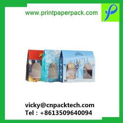 Kundenspezifisches ausgezeichnetes Qualitätskleinverpacken-Kasten-Geschenk-Papierverpackenhaus-geformter Geschenk-Kasten