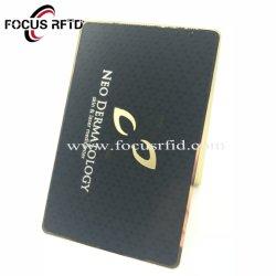Полые Craft металлических материалов подарочная карта RFID пластиковые Smart ID IC карты