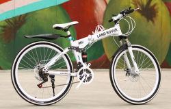 Bicicletas de montanha de dobragem