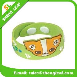 Bracelet élastique en caoutchouc pour animaux de mode