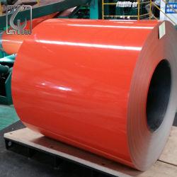 SGCC Ral3020カラーコーティングはフィリピンPPGIのコイルのための鋼鉄鉄のコイルをPrepainted